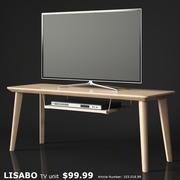IKEA LISABO TV-Gerät 3d model