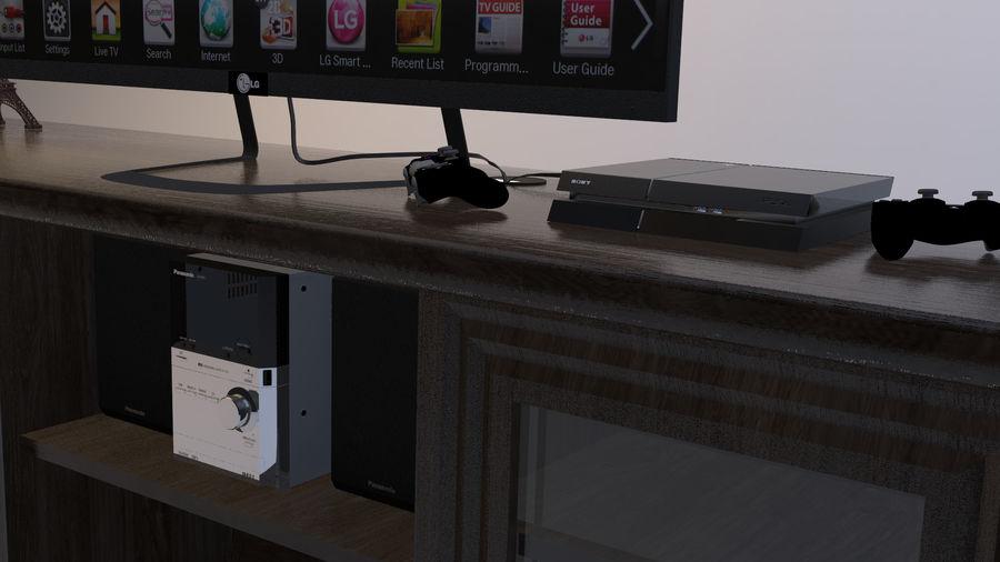 UNTERHALTUNGSSTAND royalty-free 3d model - Preview no. 3