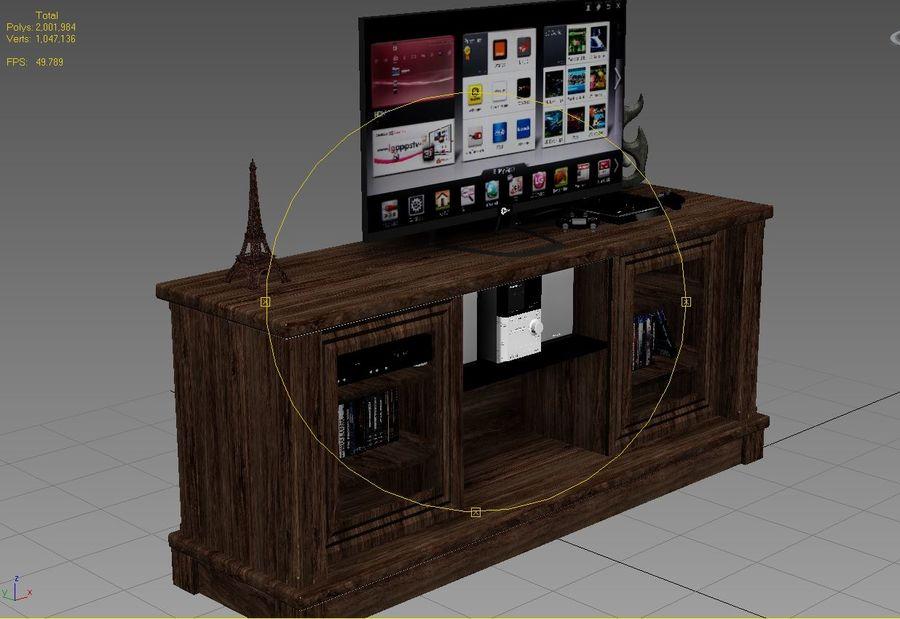 UNTERHALTUNGSSTAND royalty-free 3d model - Preview no. 12