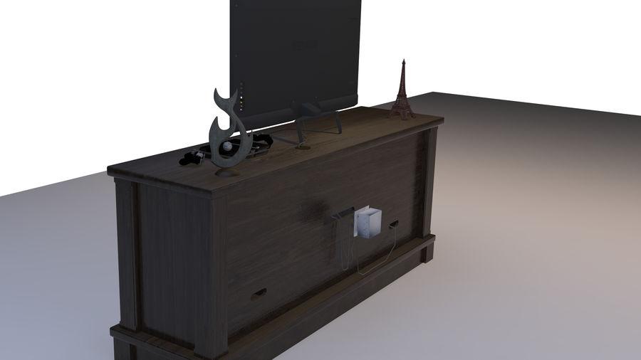 UNTERHALTUNGSSTAND royalty-free 3d model - Preview no. 2