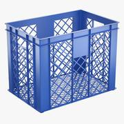 Caisse de stockage en plastique 3d model