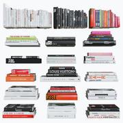 Salontafelboeken: mode 3d model