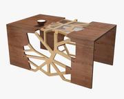 분기 테이블 3d model