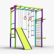 游乐场考拉冒险 3d model