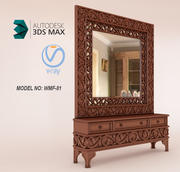 luxury furniture for interior design 3d model
