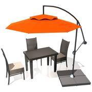 Zewnętrzny parasol patio 3d model