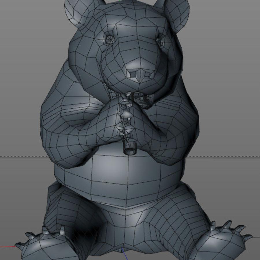 Panda ou urso da China royalty-free 3d model - Preview no. 5