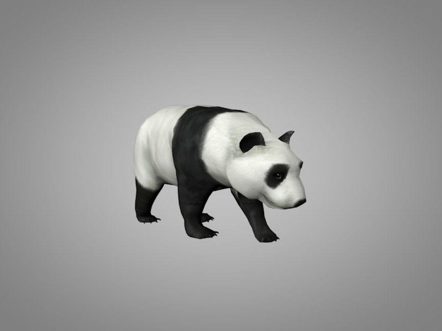 Panda ou urso da China royalty-free 3d model - Preview no. 2