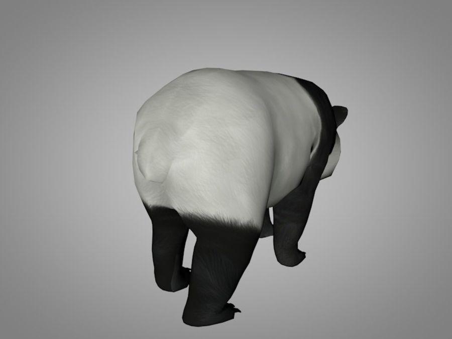 Panda ou urso da China royalty-free 3d model - Preview no. 4