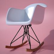 Modern Rocking Chair 3d model