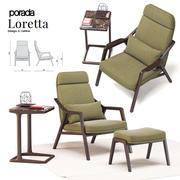 포라 다 로레타 3d model