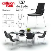 Daytona Cattelan Italia DS-717 de Sede 3d model