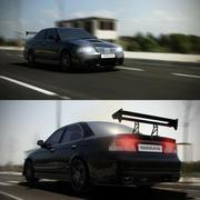 Nissan Sunny Tuning 3d model