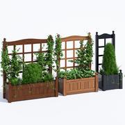 Färben Sie den klassischen Pflanzer 3d model