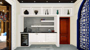 Kitchen Closet Counter 3d model