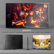 Sony AF8 | OLED | 4K Ultra HD | (HDR) | Smart TV (Android TV) 3d model
