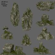 klif rotsen 3d model