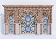 Arcos islâmicos 3d model