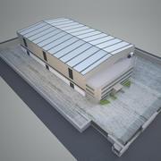 Завод промышленного строительства 5 3d model