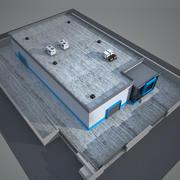 Завод промышленного строительства 6 3d model