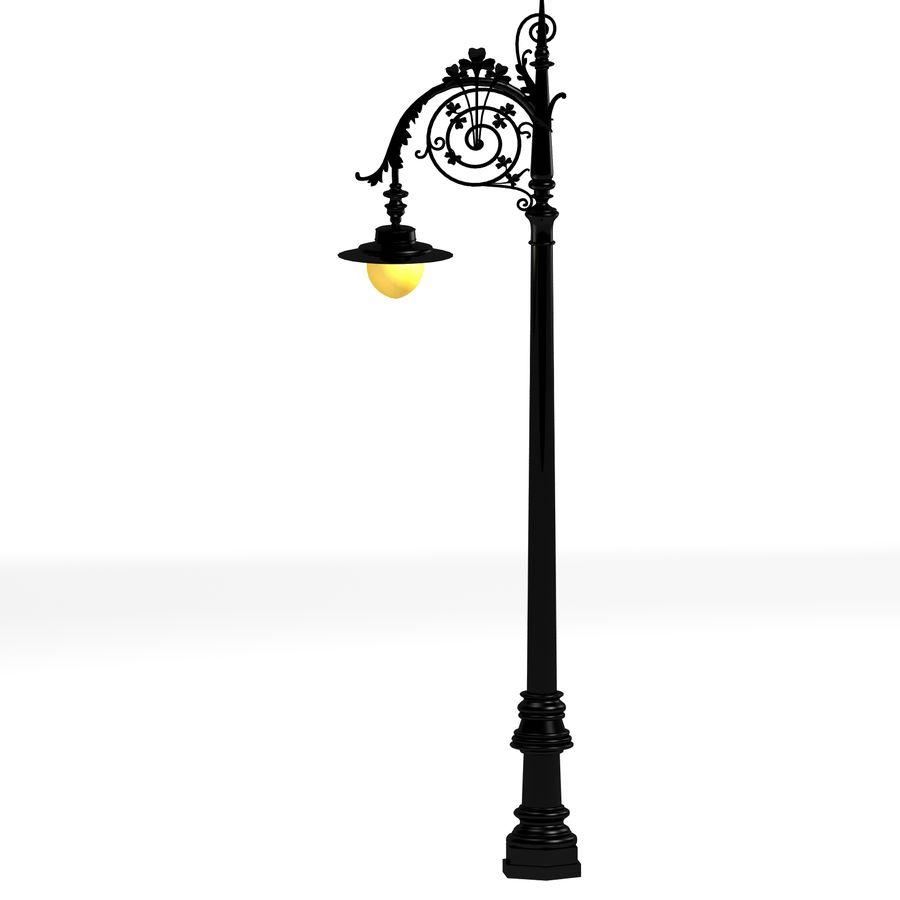 Luz de la calle de la ciudad royalty-free modelo 3d - Preview no. 2