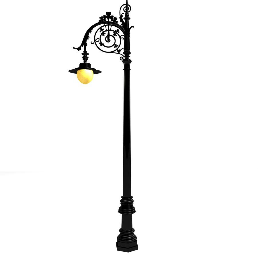 Luz de la calle de la ciudad royalty-free modelo 3d - Preview no. 8