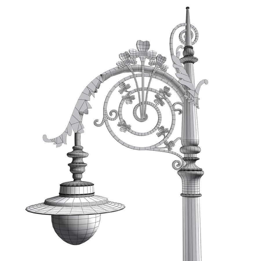Luz de la calle de la ciudad royalty-free modelo 3d - Preview no. 10