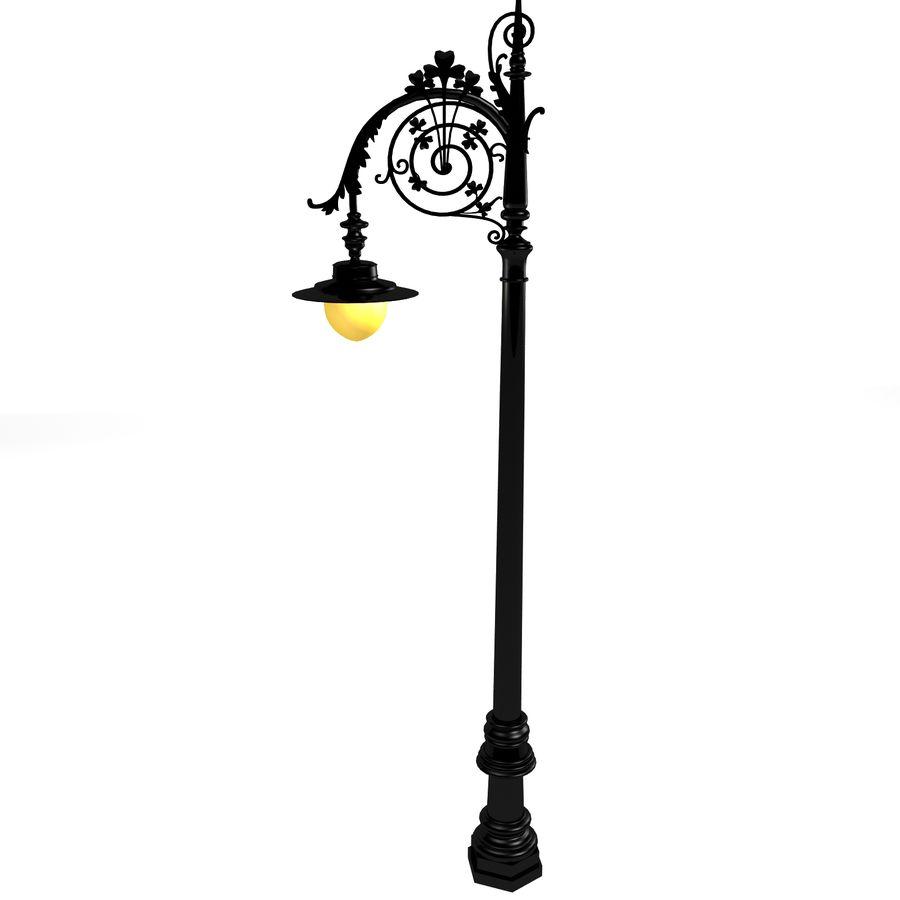 Luz de la calle de la ciudad royalty-free modelo 3d - Preview no. 4
