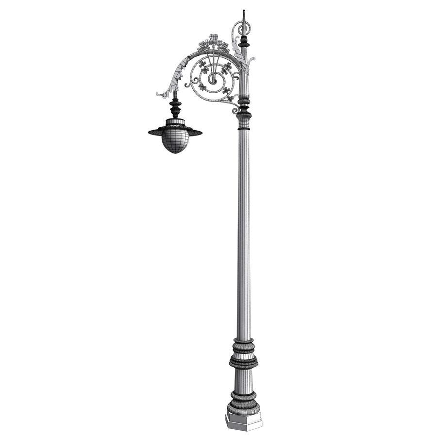 Luz de la calle de la ciudad royalty-free modelo 3d - Preview no. 9