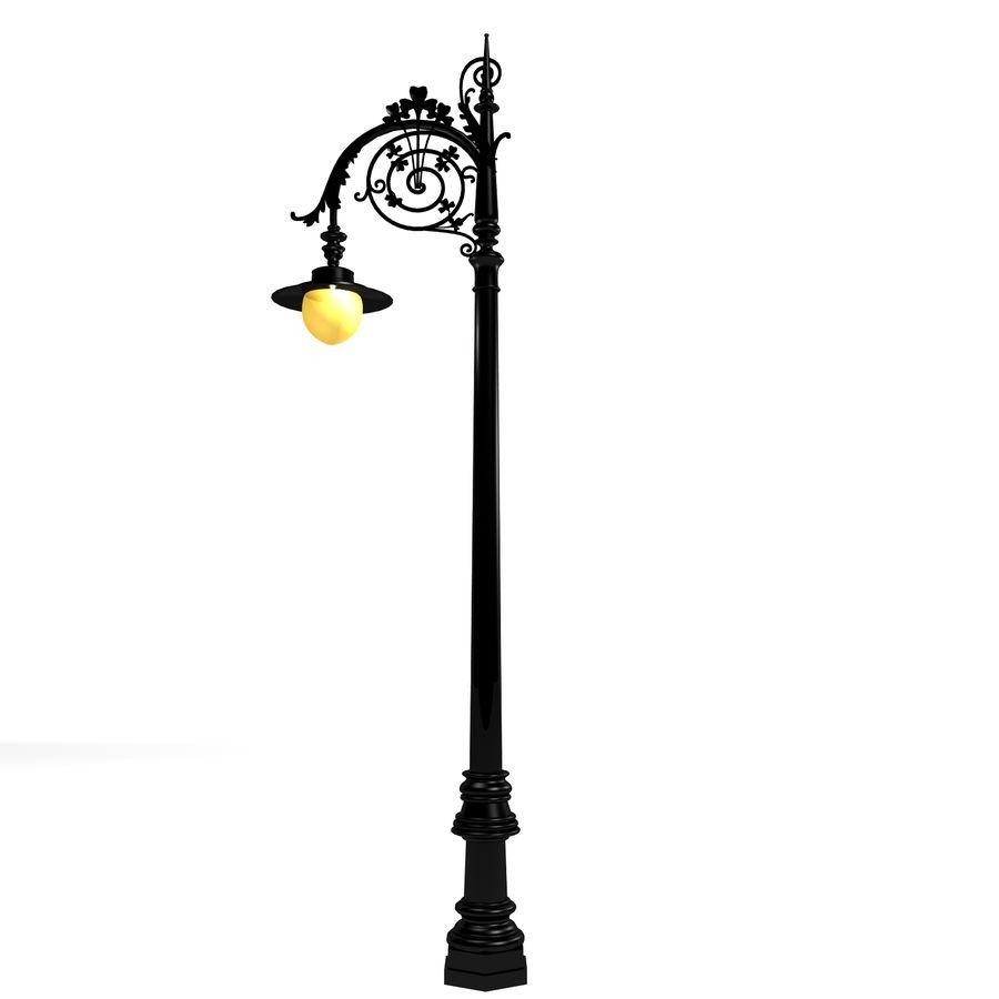 Luz de la calle de la ciudad royalty-free modelo 3d - Preview no. 5