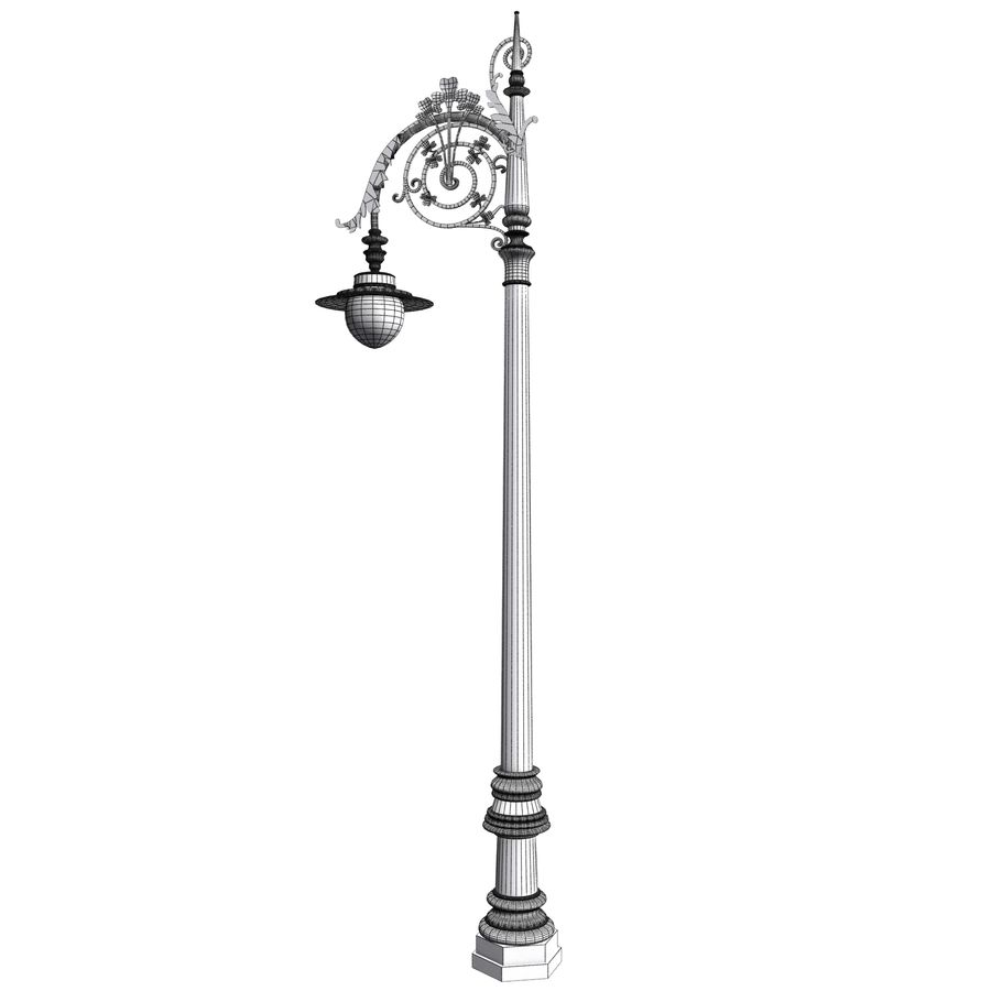 Luz de la calle de la ciudad royalty-free modelo 3d - Preview no. 12
