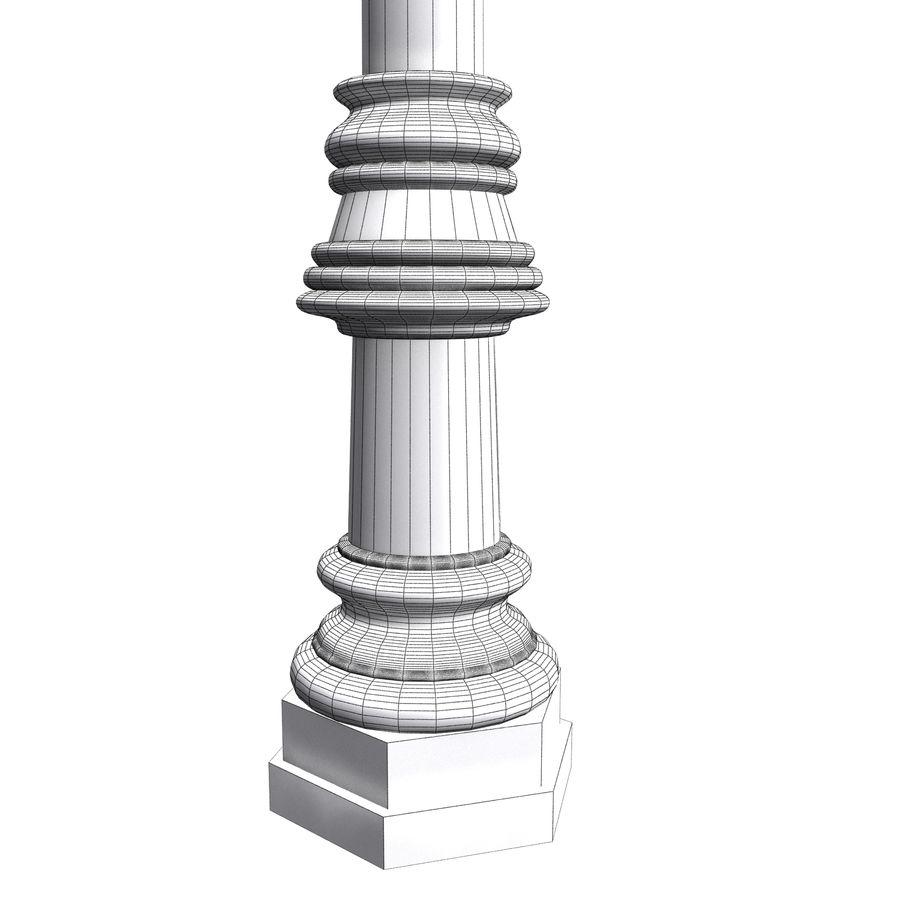 Luz de la calle de la ciudad royalty-free modelo 3d - Preview no. 13
