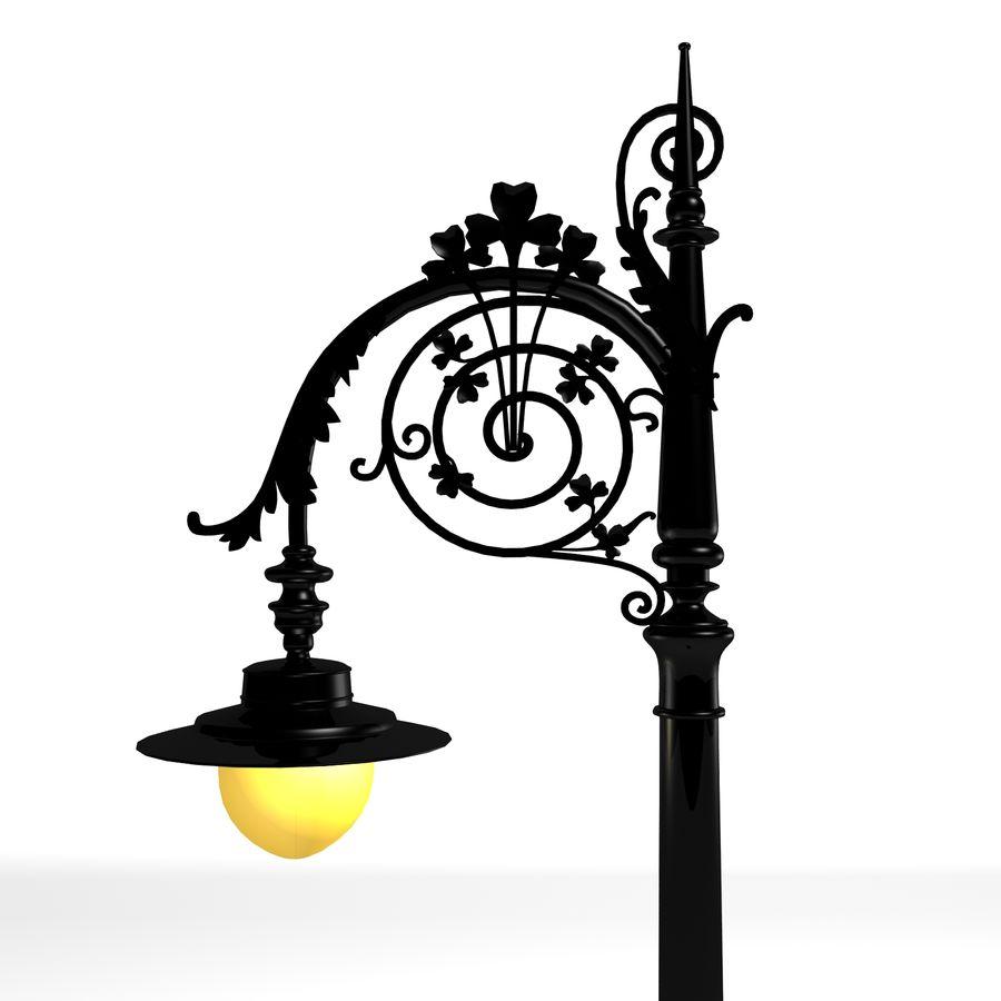 Luz de la calle de la ciudad royalty-free modelo 3d - Preview no. 1