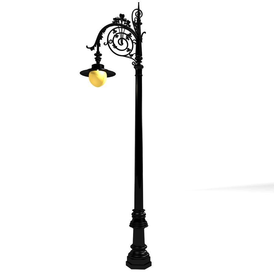 Luz de la calle de la ciudad royalty-free modelo 3d - Preview no. 6