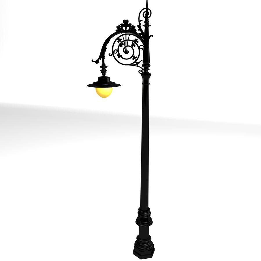 Luz de la calle de la ciudad royalty-free modelo 3d - Preview no. 3