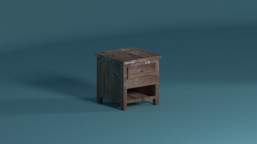 Room furniture royalty-free 3d model - Preview no. 10