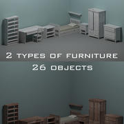 Room furniture 3d model