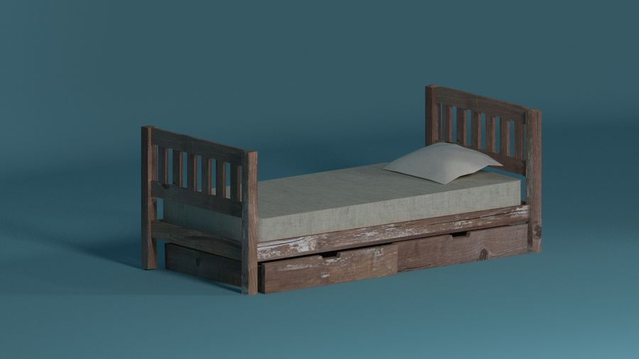 Room furniture royalty-free 3d model - Preview no. 9