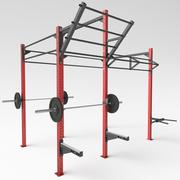 Rack de ejercicios modelo 3d