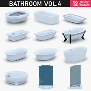 Bagno Vol 4 - Vasca da bagno e doccia 3d model