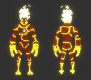 Ben 10 Alien Form: Heatblast 3d model