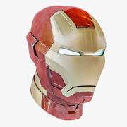 Iron man mark 42 helmet 3d model