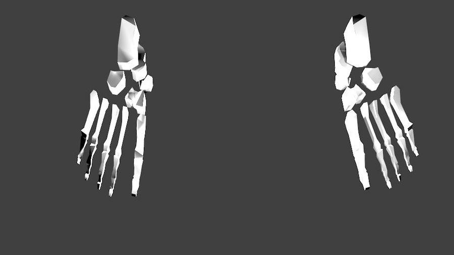 Szkielet człowieka royalty-free 3d model - Preview no. 10
