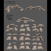 sac de sable 3d model