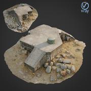 3d scanned Bunker A 3d model