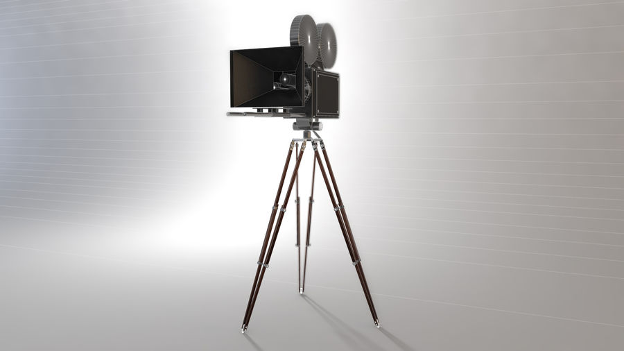 Vintage Camera royalty-free 3d model - Preview no. 5