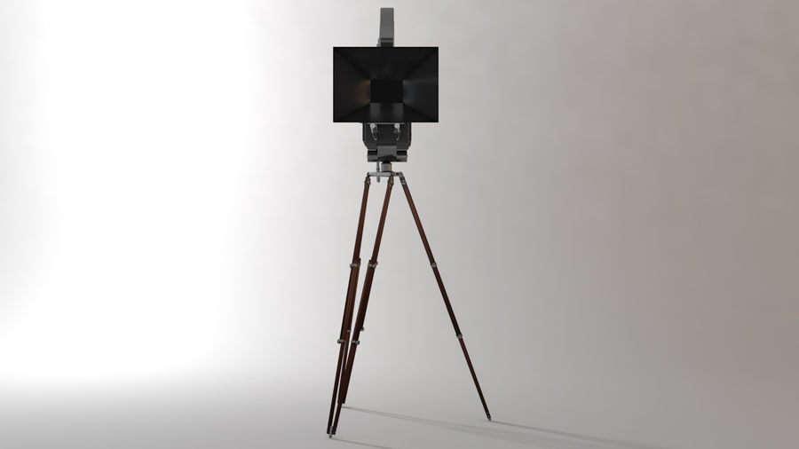 Vintage Camera royalty-free 3d model - Preview no. 4