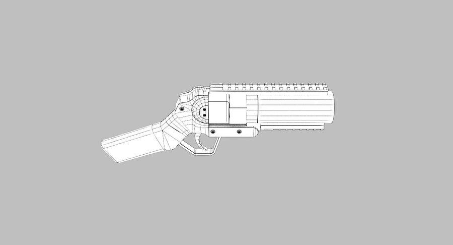 Musketon Weapon Gun royalty-free 3d model - Preview no. 9