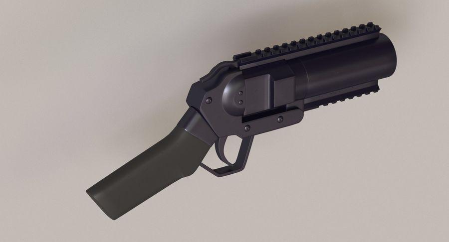 Musketon Weapon Gun royalty-free 3d model - Preview no. 4