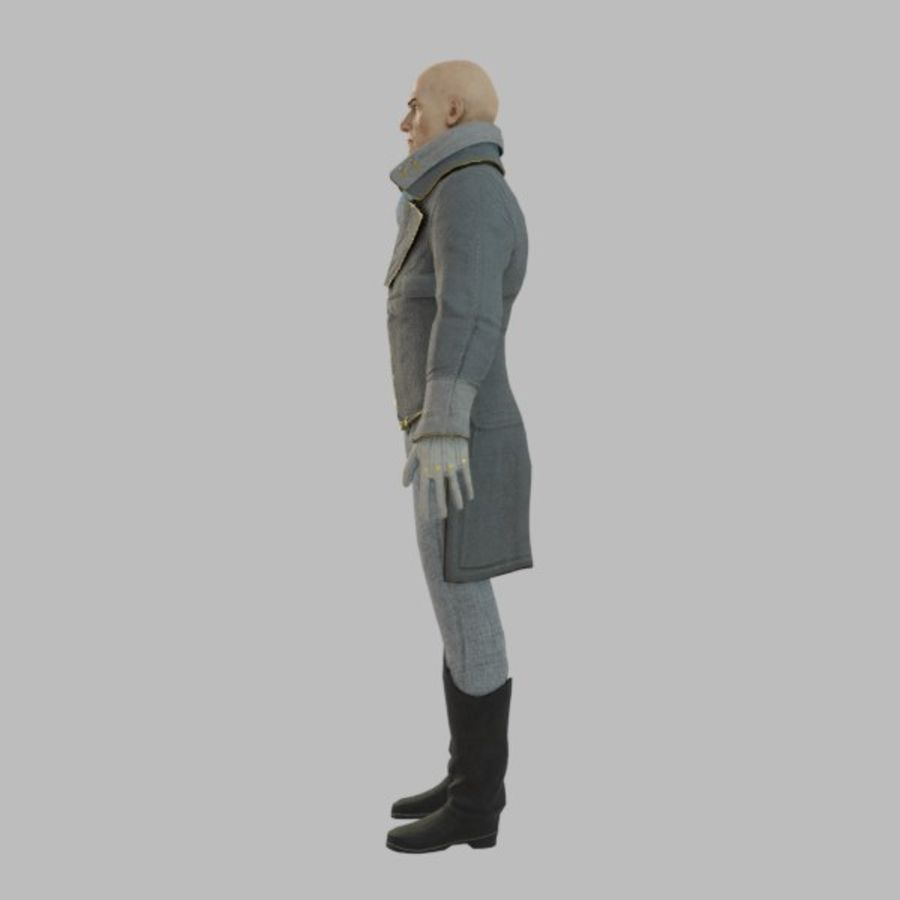 Soylu Lord royalty-free 3d model - Preview no. 4